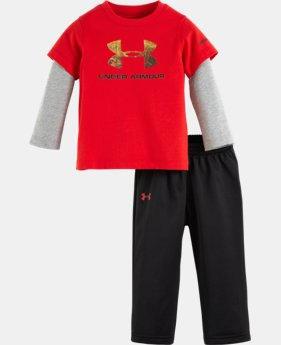 Boys' Infant UA Hunt Big Logo Set