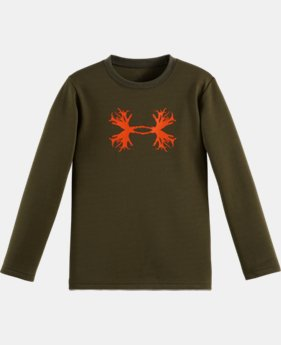 Boys' Pre-School UA Branch Logo Long Sleeve