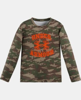 Boys' Toddler UA Tundraflage Long Sleeve