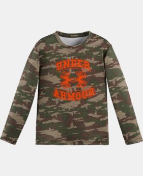 Boys' Pre-School UA Tundraflage Long Sleeve
