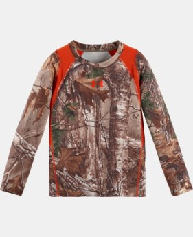 Boys' Infant UA Real Tree Predator Long Sleeve