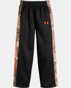 Boys' Toddler UA Solid Real Tree Fleece Pants