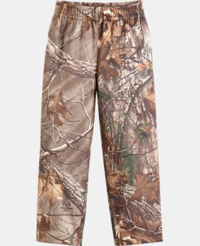 Boys' Toddler UA Real Tree Fleece Pants