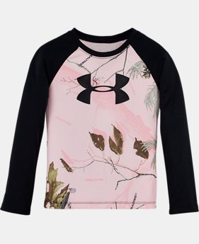 Girls' Infant UA Real Tree Raglan