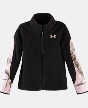 Girls' Pre-School UA Horizon Full Zip