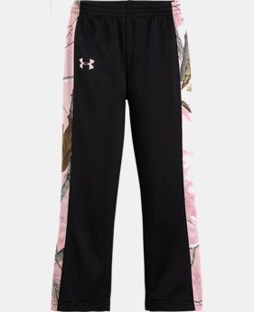 Girls' Pre-School UA Armour® Fleece Real Tree Pant