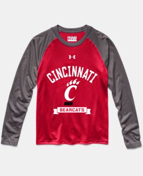 Boys' Cincinnati UA Tech™ Long Sleeve T-Shirt