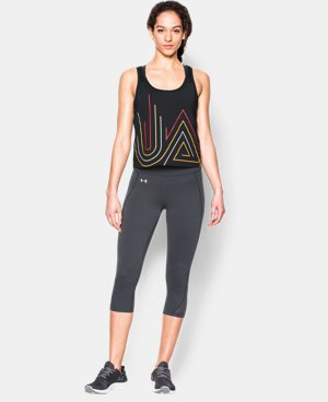 Women's UA Fly-By 2.0 Graphic Midi LIMITED TIME: FREE U.S. SHIPPING  $20.24