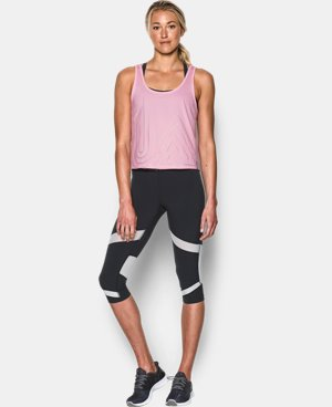 Women's UA Fly-By 2.0 Graphic Midi  1 Color $20.24