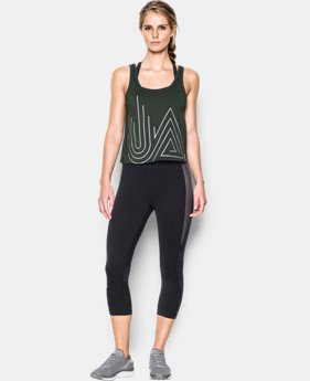 Women's UA Fly-By 2.0 Graphic Midi  1 Color $26.99