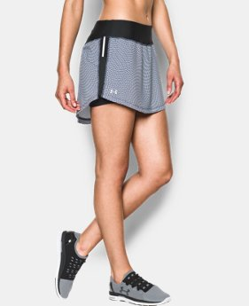 Women's UA Stretch Woven Printed Run Skort  1 Color $44.99