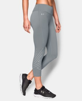 New to Outlet Women's UA Fly-By 2.0 Graphic Capri   $48.99