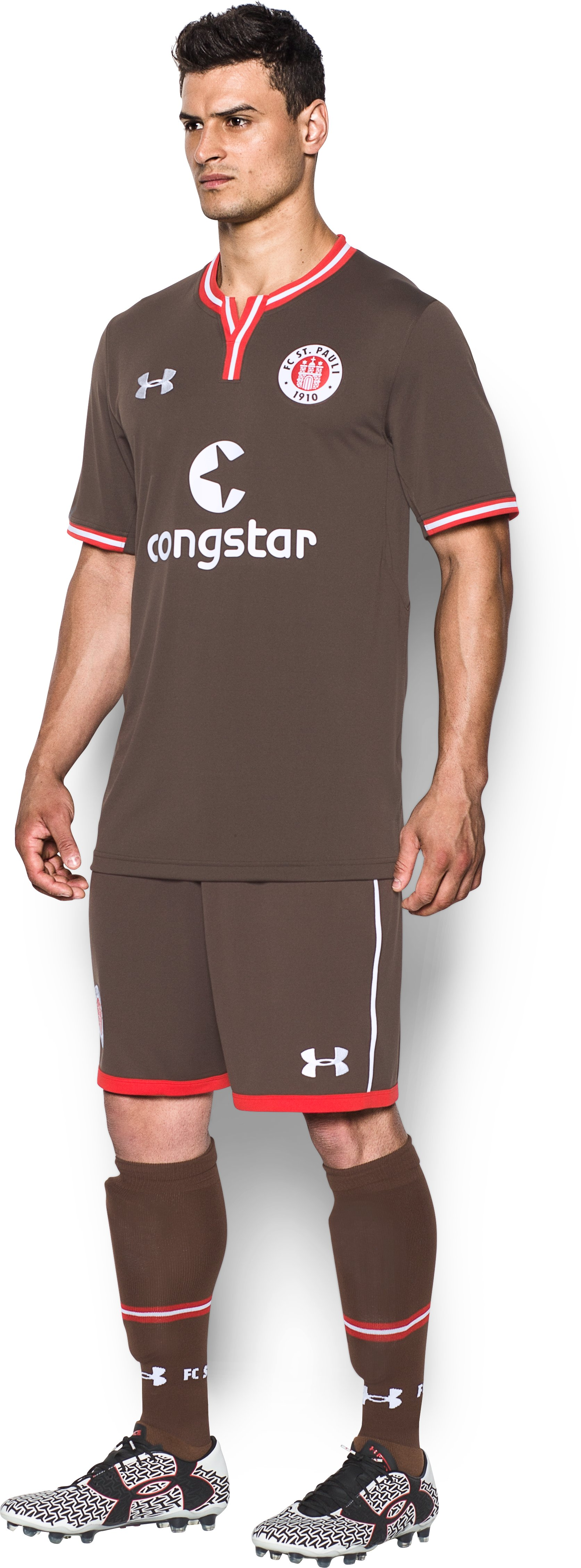 Men's St. Pauli 16/17 Home/Third Replica Jersey, Timber, undefined