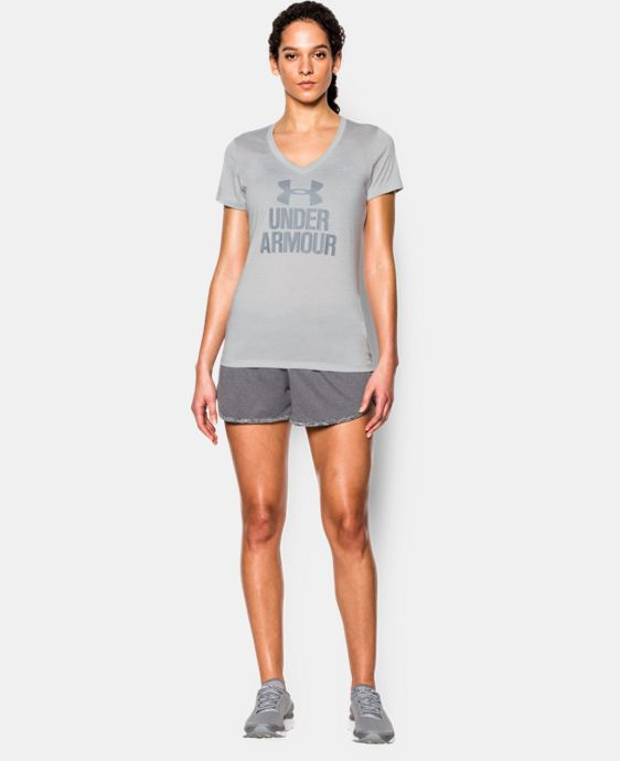 Women's UA Tech™ V-Neck - Twist Logo   $20.99