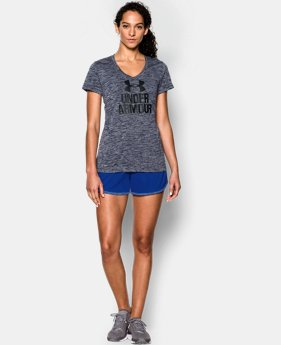 New Arrival  Women's UA Tech™ V-Neck - Twist Logo LIMITED TIME: FREE SHIPPING 5 Colors $32.99