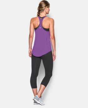 Women's UA Technical Racer Back Tank LIMITED TIME: FREE SHIPPING 1 Color $49.99