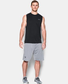Men's UA Tech™ Muscle Tank LIMITED TIME: FREE SHIPPING  $22.49