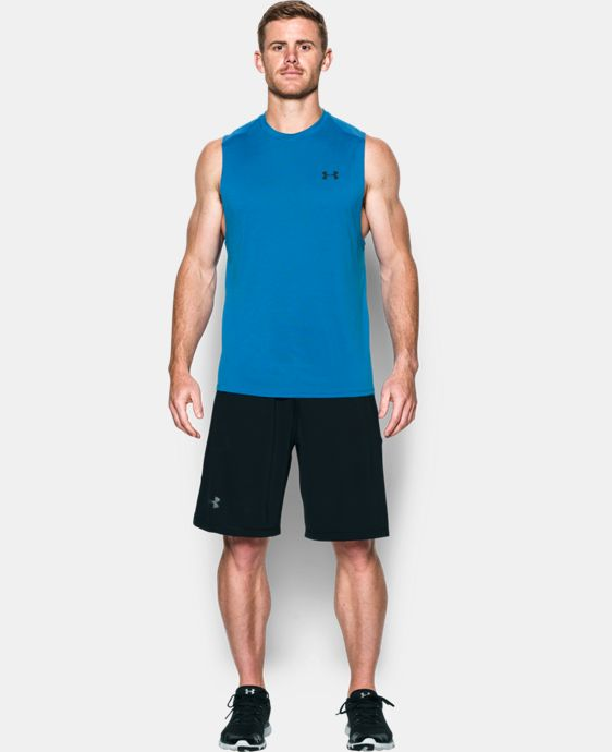 Men's UA Tech™ Muscle Tank LIMITED TIME OFFER + FREE U.S. SHIPPING 2 Colors $18.74
