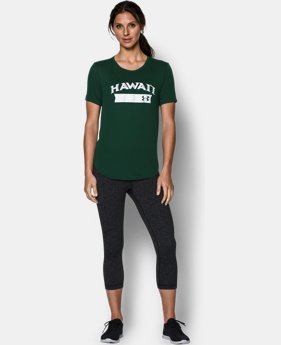 Women's Hawai'i UA Short Sleeve Crew