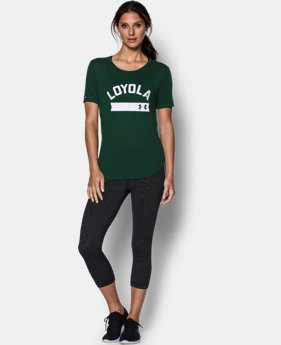 New to Outlet Women's Loyola UA Short Sleeve Crew  1 Color $22.99