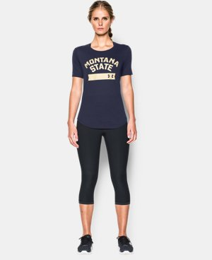Women's Montana UA Short Sleeve Crew LIMITED TIME: FREE U.S. SHIPPING 1 Color $22.99