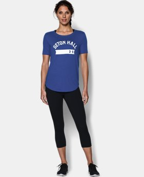 Women's Seton Hall UA Short Sleeve Crew