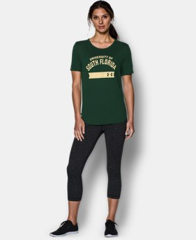 Women's South Florida UA Short Sleeve Crew