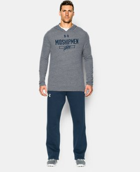 Men's Navy Charged Cotton® Tri-Blend Hoodie