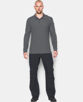 Men's UA Tactical Performance Long Sleeve Polo  1 Color $54.99