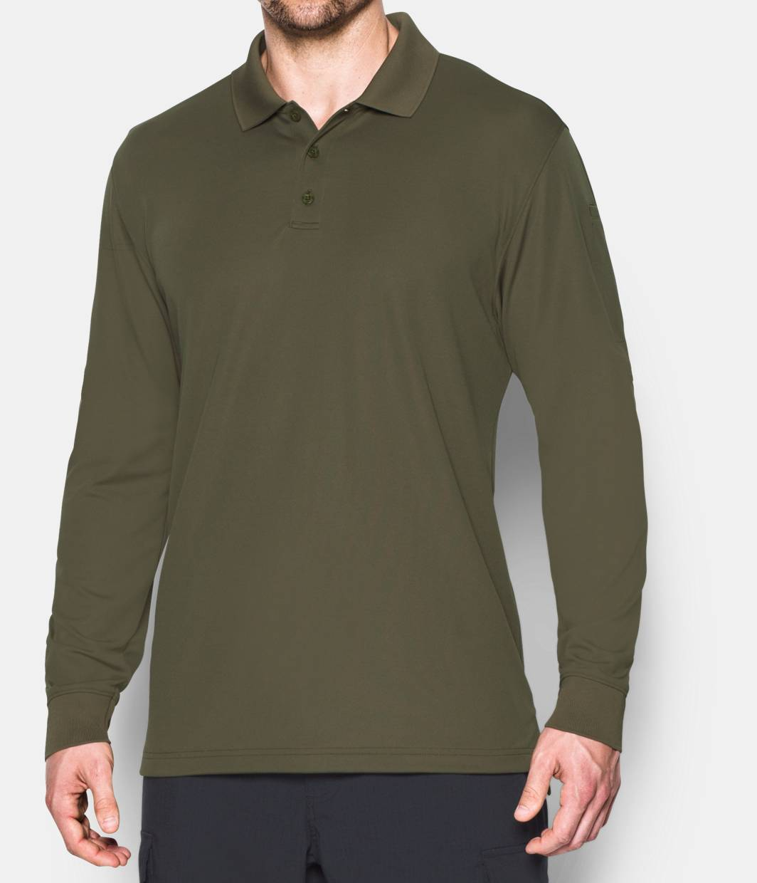 Men's UA Tactical Performance Long Sleeve Polo | Under Armour US