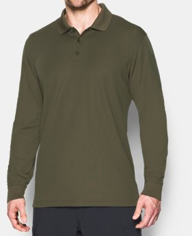 366d81b122f Men s UA Tactical Performance Long Sleeve Polo 3 Colors Available  54.99