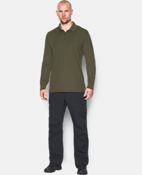 Men's UA Tactical Performance Long Sleeve Polo  1  Color Available $54.99