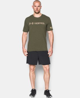 Men's UA Freedom I SERVED T-Shirt LIMITED TIME: FREE U.S. SHIPPING 1 Color $24.99