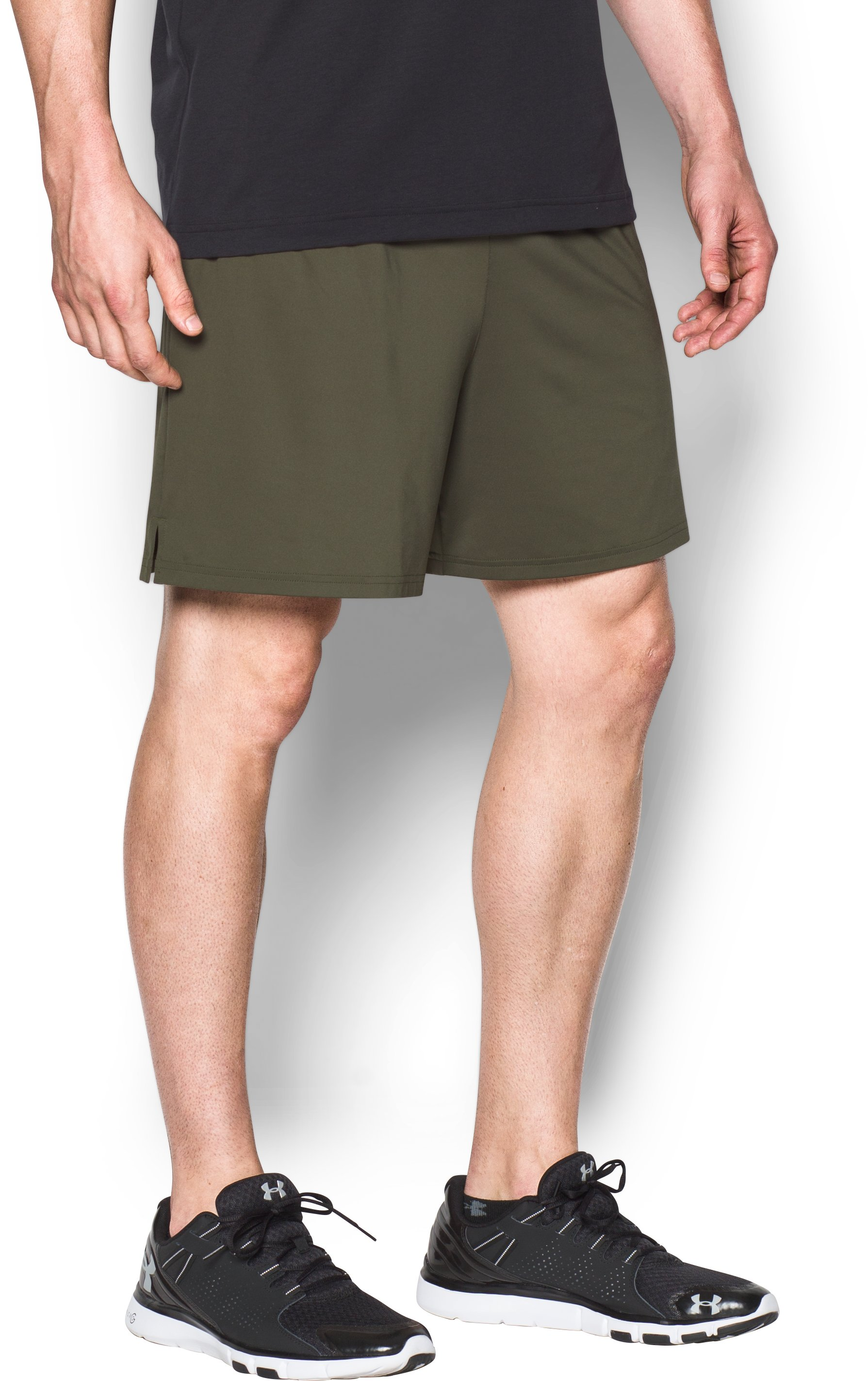 Men's UA Tactical Tech™ Shorts, Marine OD Green, undefined