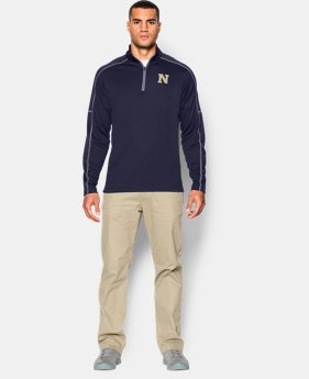 Men's Navy UA Proven Mock ¼ Zip