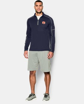 Men's Auburn UA Proven Mock ¼ Zip