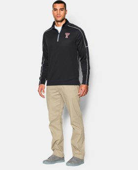 Men's Texas Tech UA Proven Mock ¼ Zip
