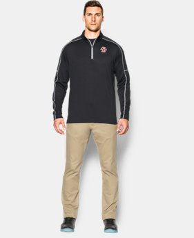 Men's Boston College UA Proven Mock ¼ Zip  1 Color $64.99