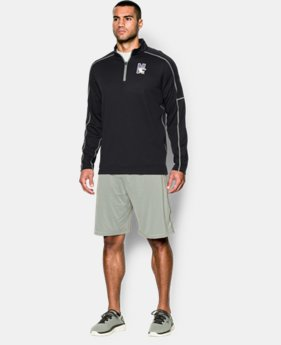 Men's Northwestern UA Proven Mock ¼ Zip