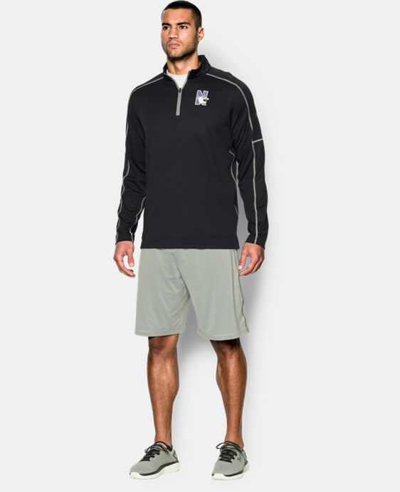 Men's Northwestern UA Proven Mock ¼ Zip LIMITED TIME: FREE U.S. SHIPPING  $48.99