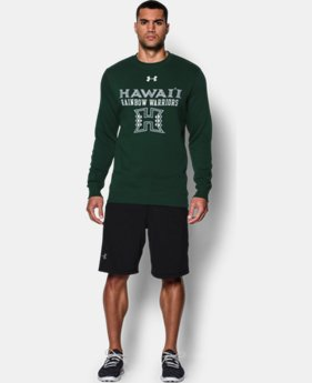 Men's Hawai'i UA Rival Fleece Crew