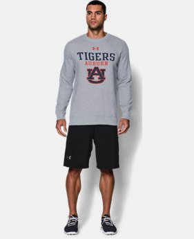 Men's Auburn UA Rival Fleece Crew