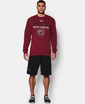 Men's South Carolina UA Rival Fleece Crew