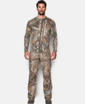 New Arrival Men's UA Tech™ Camo Long Sleeve T-Shirt   $39.99