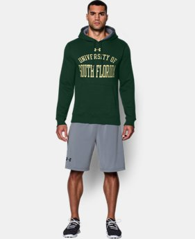 Men's South Florida UA Rival Fleece Hoodie