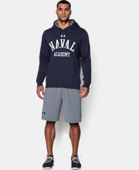 Men's Navy UA Rival Fleece Hoodie