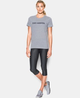 Women's UA Freedom I Served T-Shirt  1 Color $18.74