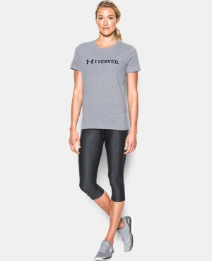 New Arrival  Women's UA Freedom I Served T-Shirt LIMITED TIME: FREE SHIPPING 1 Color $29.99