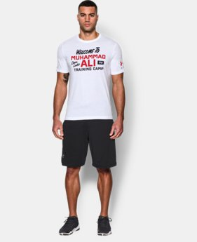 Men's UA x Muhammad Ali Back At It T-Shirt LIMITED TIME: FREE SHIPPING  $39.99