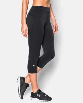 Women's UA HeatGear® Armour Capris  1 Color $26.99
